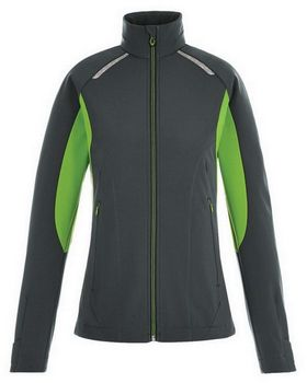 North End 78693 Ladies' Excursion Soft Shell Jacket with Laser Stitch Accents