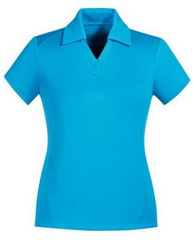 North End Sport Red 78803 Exhilarate Ladies Polo