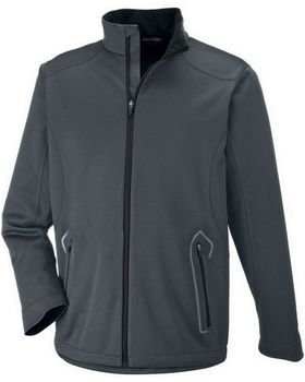 North End 88655 Men's Splice Light Bonded Soft Shell Jacket