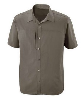 North End  88675 Men's Charge Recycled Polyester Performance Short-Sleeve Shirt
