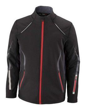 North End 88678 Mens Light Bonded Hybrid Soft Shell Jacket