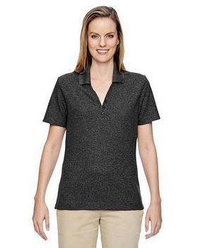 North End 75121 Ladies Excursion Nomad Performance Waffle Polo Shirt