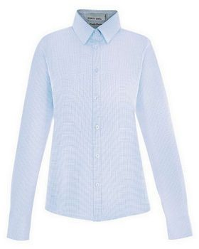 North End 77043 Women's Paramount Wrinkle Blend Twill Checkered Shirts