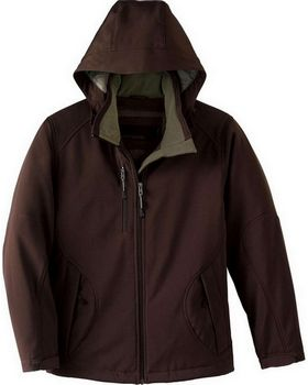 North End 78080 Glacier Ladies Insulated Soft Shell Jacket With Detachable Hood
