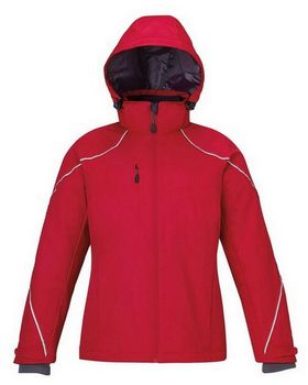 North End 78196 Angle Ladies 3 In 1 Jacket With Bonded Fleece Liner
