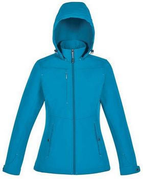 North End 78212 Forecast Ladies 3 Layer Bonded Travel Soft Shell Jacket