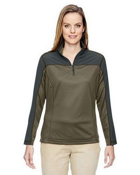 North End 78220 Ladies Excursion Circuit Performance Half Zip Pullover