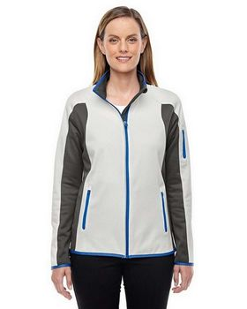 North End 78230 Ladies Motion Interactive ColorBlock Performance Fleece Jacket