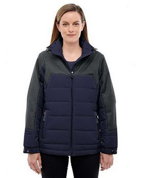 North End 78232 Ladies Excursion Meridian Jacket