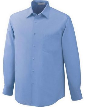 North End 87037 Luster Mens Taped Shirt