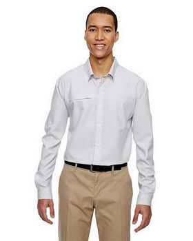 North End 87046 Men's Excursion FBC Textured Performance Shirt