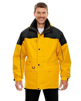 North End 88006 Mens 3-In-1 Two-Tone Parka