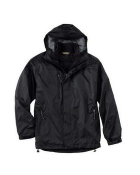 North End 88120 Mens 3-In-1 Techno Performancetm Seam-Sealed Hooded Jacket