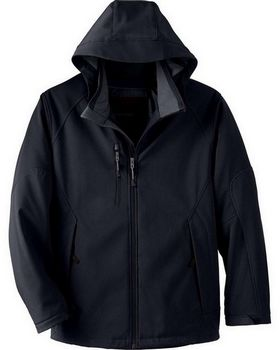 North End 88159 Glacier Mens Insulated Soft Shell Jacket With Detachable Hood