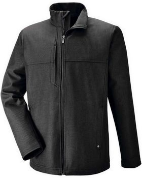 North End 88171 Mens Textured City Soft Shell Jacket