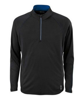 North End 88187 Radar Mens Half-Zip Performance Long Sleeve Top