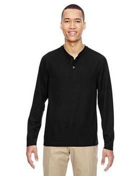 North End 88221 Mens Waffle Henley