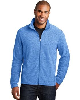 Port Authority F235 Heather Microfleece Full-Zip Jacket
