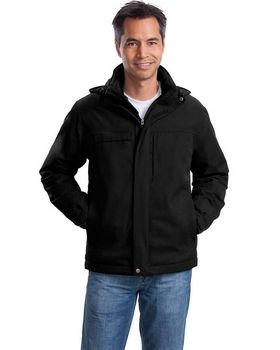 Port Authority J302 Herringbone 3-in-1 Parka