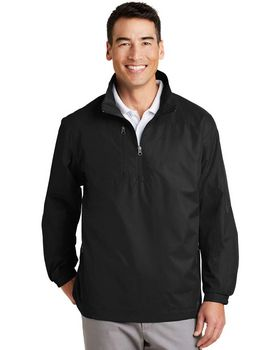 Port Authority J703 1/2-Zip Wind Jacket - Shop at ApparelnBags.com
