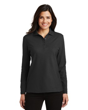 Port Authority L500LS Ladies Silk Touch Polo
