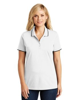 Port Authority LK111 Ladies Dry Zone UV Micro-Mesh Tipped Polo Shirt