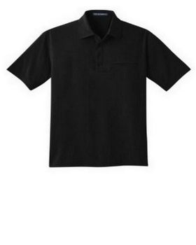Port Authority S650 Ultra Stretch Pocket Polo