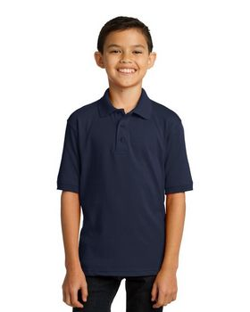 Port & Company KP55Y Youth Jersey Knit Polo