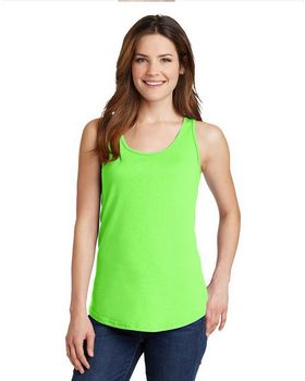 Port & Company LPC54TT Ladies 100% Cotton Tank Top