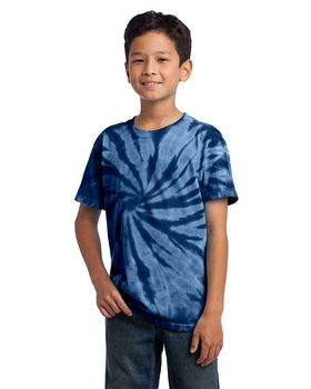 Port & Company PC147Y Youth Essential Tie-Dye Tee