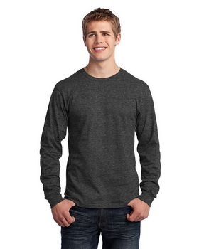 Port & Company PC54LS L-Sleeve 100% Cotton T-Shirt