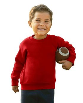 Rabbit Skins 3317 Toddler Sweatshirt - Shop at ApparelnBags.com