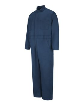 Red Kap CC16EXT Button-Front Cotton Coverall Additional Sizes