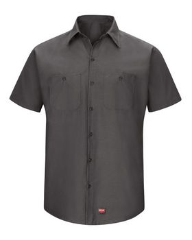 Red Kap SX20L Mimix Short Sleeve Workshirt - Long Sizes
