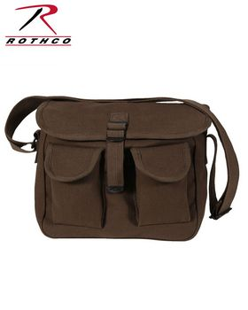 Rothco 2267 Canvas Ammo Shoulder Bag - Shop at ApparelnBags.com