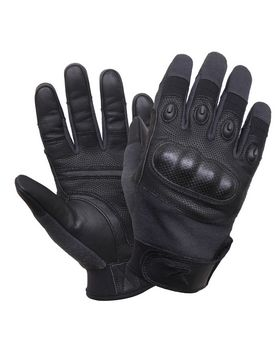 Rothco Rothco's Carbon Fiber Hard Knuckle Cut/Fire Resistant Gloves