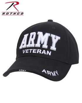 Rothco 3951 Deluxe Army Veteran Low Profile Cap