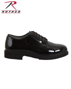 Rothco 5055 Uniform Hi-Gloss Oxford Dress Shoe