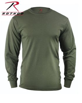 Rothco 60118 Long Sleeve Solid T-Shirt - Shop at ApparelnBags.com