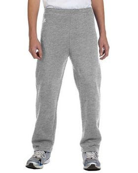 Russell Athletic 596HBB Youth Dri-Power Open-Bottom Fleece Pant
