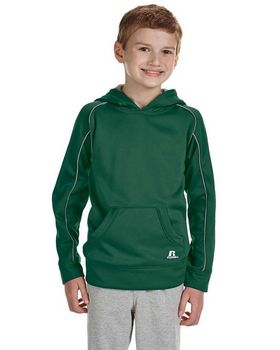 Russell Athletic 955EFB Youth Tech Fleece Pullover Hood