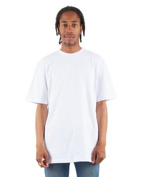 Shaka Wear SHRHSS Adult Combed Heavyweight US Ringspun Cotton T-Shirt