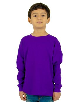 Shaka Wear SHTHRMY Youth 8.9 oz.; Thermal T-Shirt