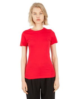 Simplex Apparel SI1010 Ladies Combed Ring-Spun Cotton Crew