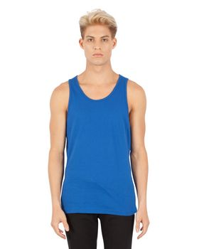 Simplex Apparel SI1340 Mens Combed Ring-Spun Cotton Tank