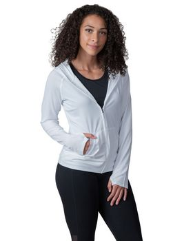 Soybu SY1171D Ladies Endurance Full-Zip Hooded Sweatshirt with Back Mesh