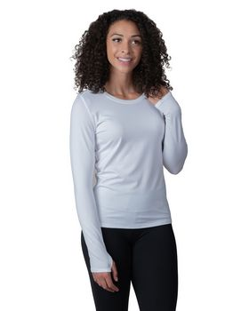 Soybu SY1387D Ladies Endurance Long-Sleeve T-Shirt with Back Mesh Insert