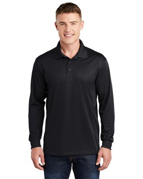 Sport-Tek ST657 Long Sleeve Micropique Sport-Wick Polo