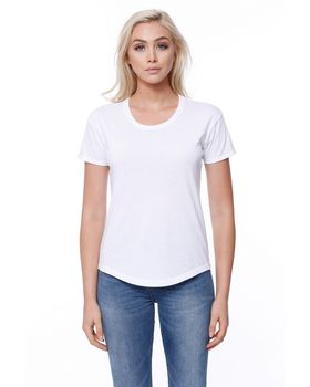 Startee ST1420 Ladies CVC Melrose High Low T-Shirt