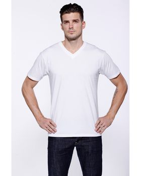 Startee ST2412 Mens CVC V-Neck T-Shirt - Shop at ApparelGator.com